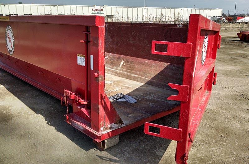 20 Yard Dumpster E Amp J Disposal Company