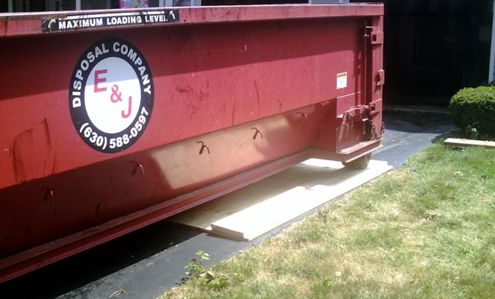 dumpster rental protection